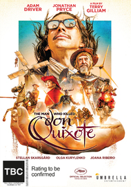 The Man Who Killed Don Quixote on DVD image