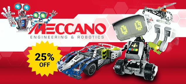 25% off Meccano!