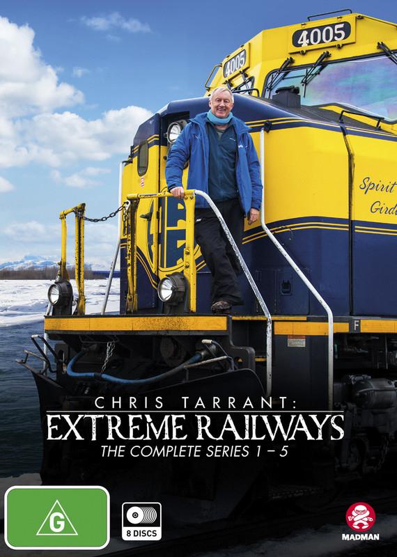 Chris Tarrant: Extreme Railways - The Complete Series 1-5 Box Set on DVD