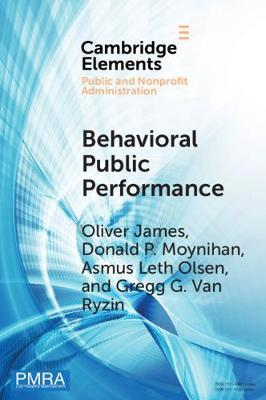 Behavioral Public Performance by Oliver James