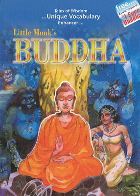 Little Monk's Buddha by Pooja Pandey image