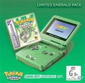 Pokemon Emerald Pack (inc GBA SP & Software) for Game Boy Advance