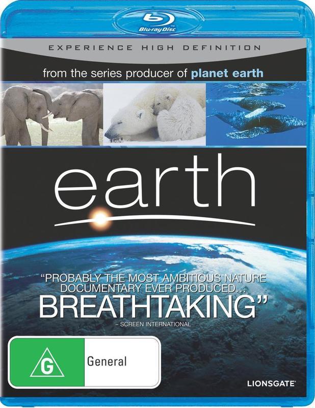 Earth on Blu-ray