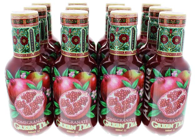 Arizona Iced Tea Pomegranate Green Tea At Mighty Ape Nz