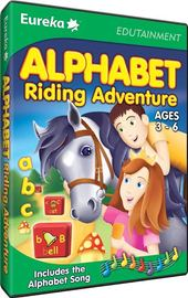 Eureka Alphabet Riding Adventure (age 3-6) for PC Games