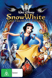 Snow White and the Seven Dwarfs on DVD