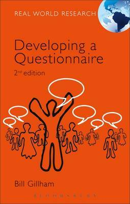Developing a Questionnaire by Bill Gillham image