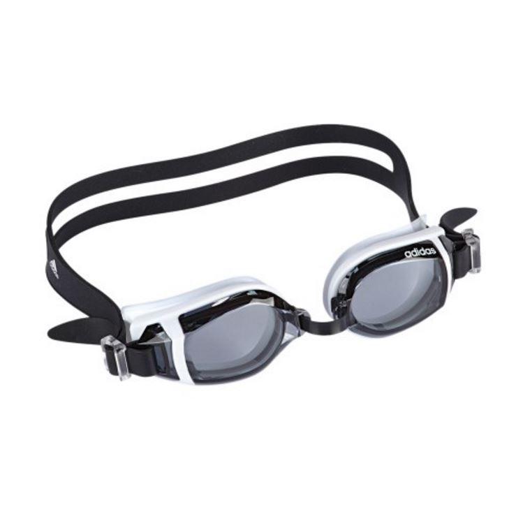 Adidas Hydro Explorer Goggles - Smoke Lens (Black/White) image