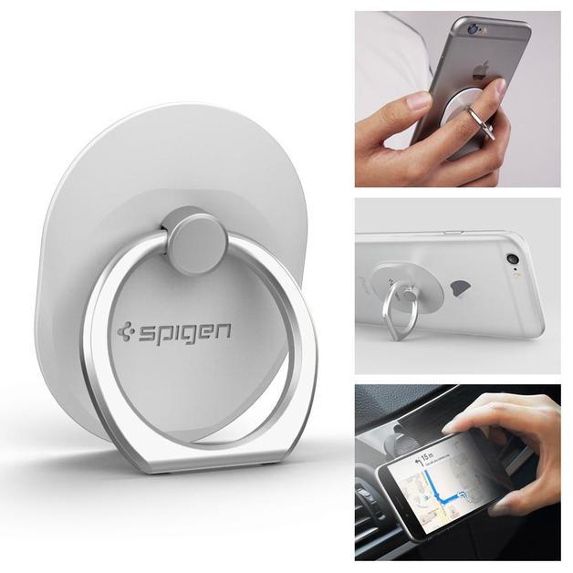 Spigen: Smartphone Style Ring - (White)