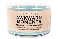 Whiskey River Co: A Candle For Awkward Moments