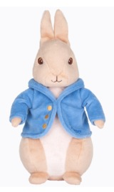 Peter Rabbit - Silky Beanbag Plush