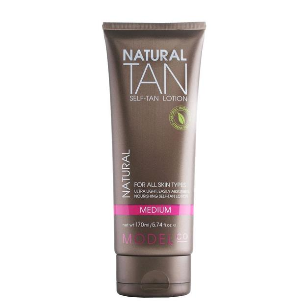 Model Co: Natural Tan Sensitive Self-Tan Lotion (170ml)