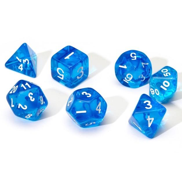 Sirius Dice: Polyhedral Dice Set - Translucent Blue