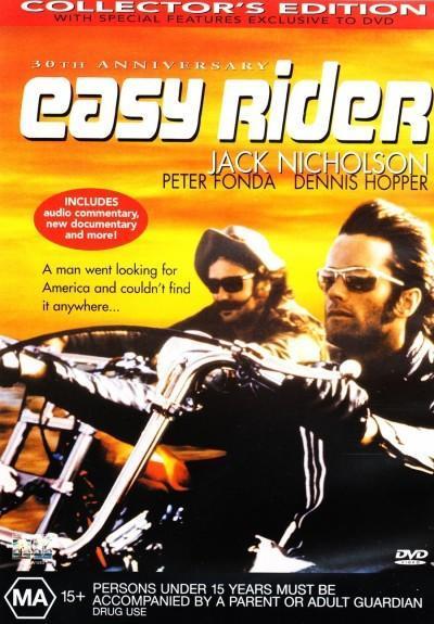 Easy Rider on DVD image