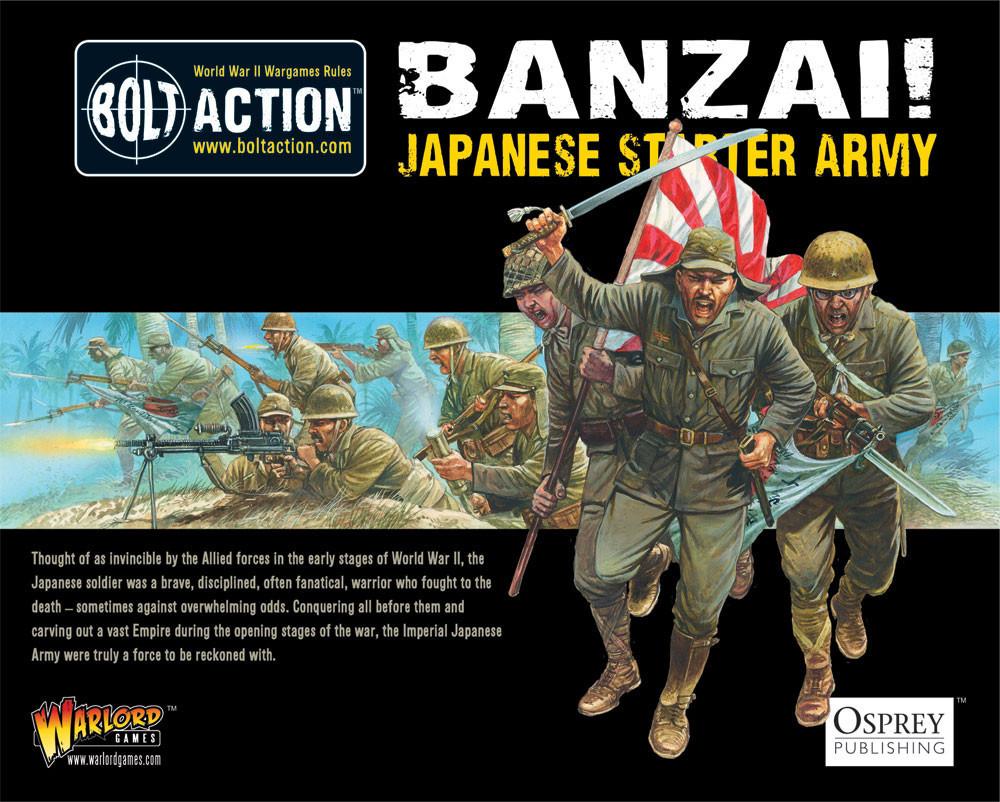Banzai! Japanese Starter Army image