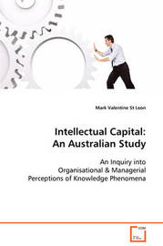 Intellectual Capital by Mark Valentine St Leon