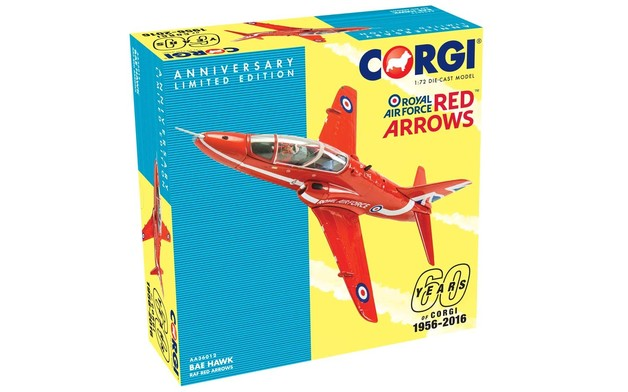 Corgi 60th 1:72 Red Arrows Diecast Model