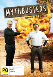 MythBusters - Complete Season 10 on DVD