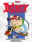 Asterix Omnibus 8: Asterix and the Great Crossing #22, Obelix and Co. #23, and Asterix in Belgium #24 by Rene Goscinny