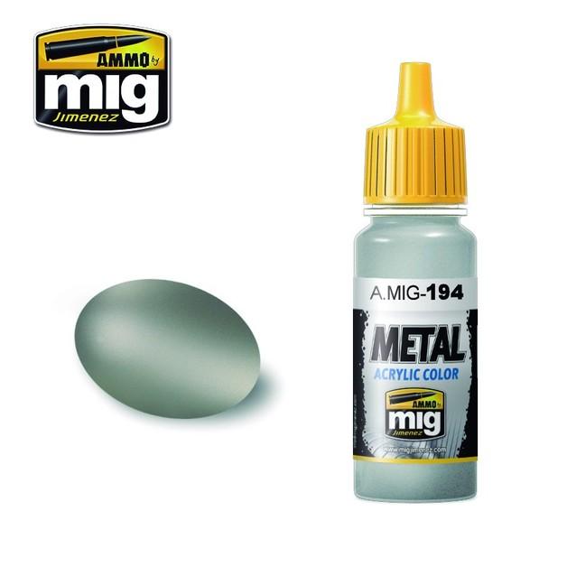 Ammo of Mig Jimenez Matt Aluminum (17ml)