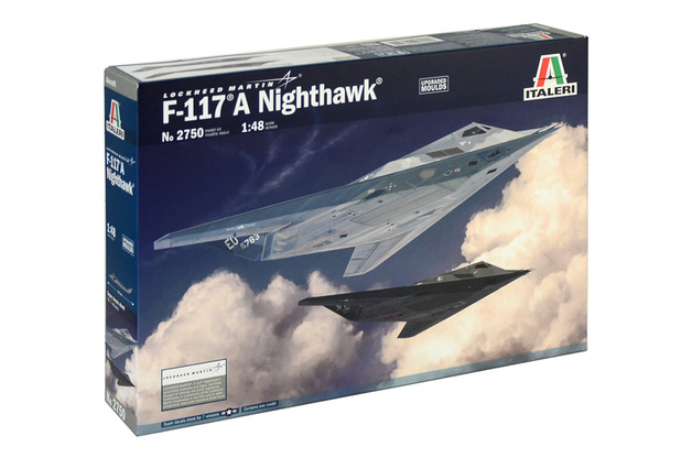 Italeri 1/48 F117A Nighthawk - Scale Model Kit