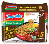 Indomie Spicy Beef Ribs Noodles 80g 5pk