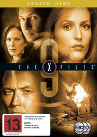 The X-Files - Season 9 (5 Disc Set) DVD