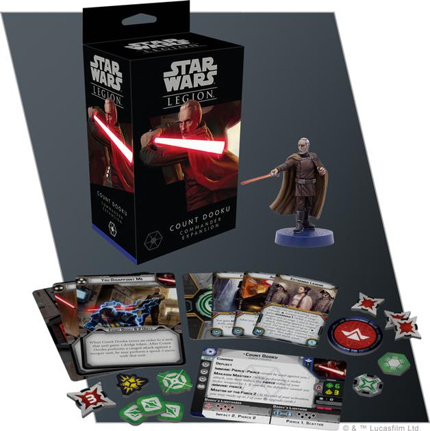 Star Wars Legion: Count Dooku Commander Expansion