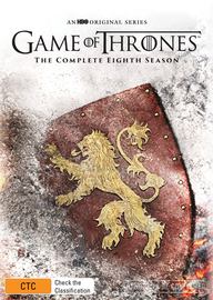 Game of Thrones Season 8 (Mighty Ape Exclusive) on DVD