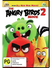 The Angry Birds Movie 2 on DVD image