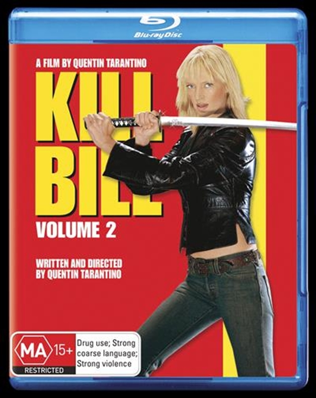 Kill Bill: Volume 2 on Blu-ray