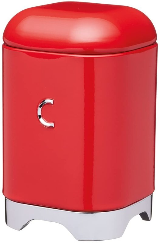 KitchenCraft: Lovello Coffee Canister - Red