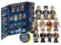 Doctor Who 11 Doctors Micro Figure Collector Set - Character Building series