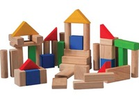 Plan Toys Wooden Blocks (50pc)