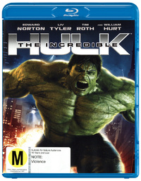 The Incredible Hulk on Blu-ray image