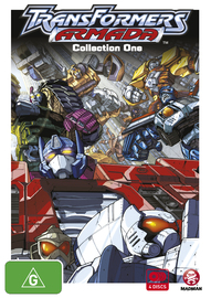 Transformers Armada - Collection One on DVD