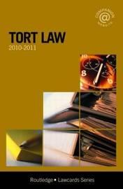 Tort Lawcards: 2010-2011 image