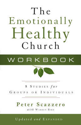 The Emotionally Healthy Church Workbook by Peter Scazzero image