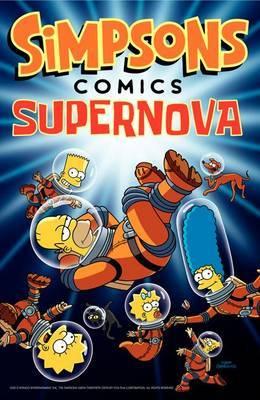 Simpsons Comics Supernova by Matt Groening image