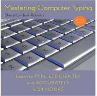 Mastering Computer Typing by Sheryl Lindsell-Roberts image