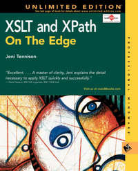 XSLT and XPath on the Edge (Unlimited Edition) by Jeni Tennison image