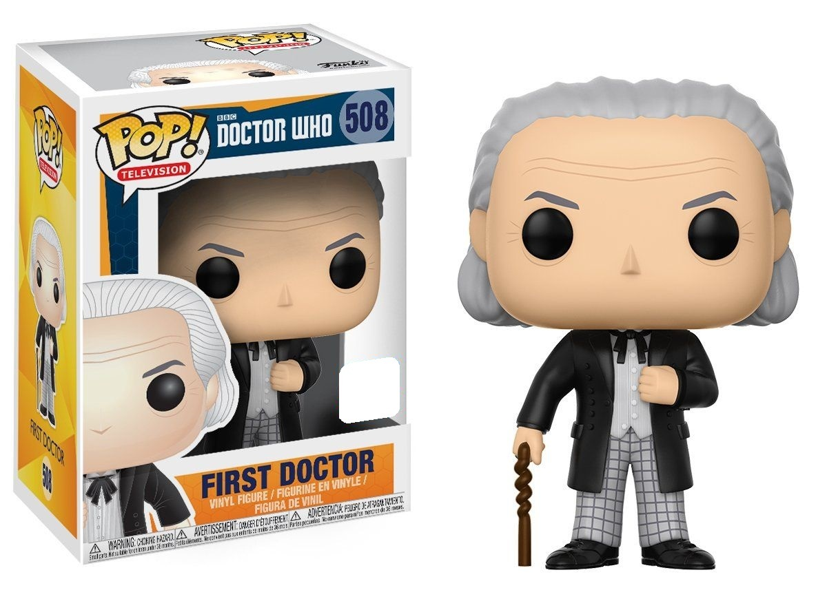 Dr Who - First Doctor Pop! Vinyl Figure (LIMIT - ONE PER CUSTOMER) image