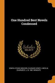One Hundred Best Novels Condensed by Edwin Atkins Grozier