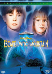 Escape To Witch Mountain (1975) on DVD
