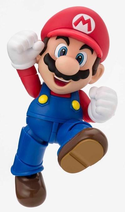 Super Mario: Mario - S.H.Figuarts Figure Reissue)