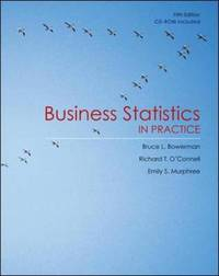 Business Statistics in Practice by Bruce L. Bowerman image