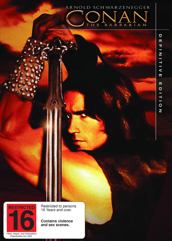 Conan The Barbarian - Definitive Edition (2 Disc Set) on DVD