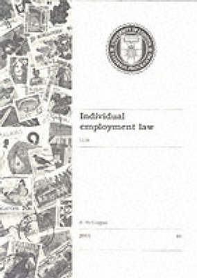 External Programme Subject Guides: Ll.M. - Individual Employment Law by A. McColgan