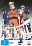 Naruto Shippuden Collection 15 (Eps 180-192) on DVD