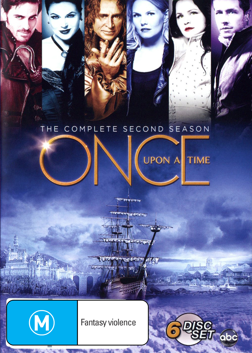 Once Upon a Time - The Complete Second Season on DVD image